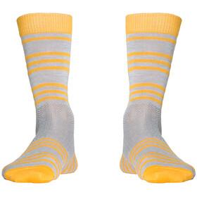 Röjk Everyday Merino Socks Unisex Sea Buckthorn Stripe